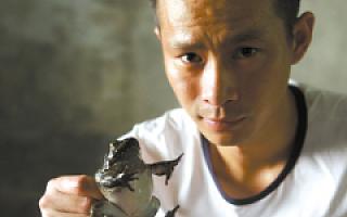 奉化小伙的艰辛创业路:6年养大一只蛙