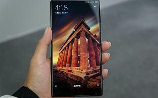 小米Mix现场图赏:全屏幕概念手机,对标夏普无边框