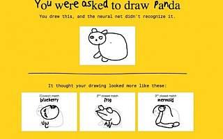 谷歌展示多款AI游戏:人工智能系统准确识别涂鸦