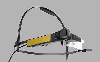 联想发布 New Glass C200 单边视觉 VR 简易头盔|CES 2017