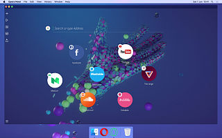 Opera Neon 概念版浏览器实际是对初代 Opera 的致敬
