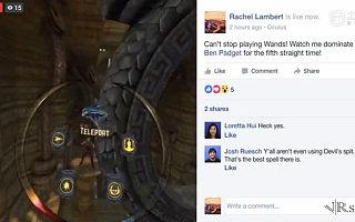 Facebook现在可以直播Gear VR体验