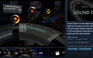 【update】发布业内首款VR音频编辑器,米谟想做VR领域的GarageBand
