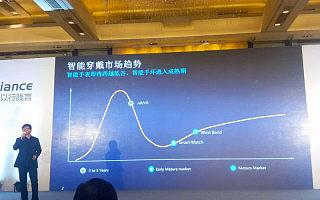 华为杨涛:未来一到两年内,可穿戴设备将跨越裂谷