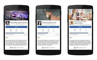 Facebook推出个人筹款功能