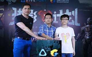 腾讯首款VR游戏登陆Viveport Arcade,独家上线体验店渠道