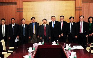 黄卫副部长会见美国IBM公司大中华区董事长陈黎明
