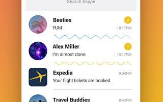 10年后,重新设计的微软Skype,变得像Snapchat和Facebook