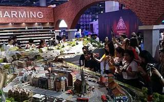 仿真实场景与火车自主研发设计,长鸣火车要打造1000平米的火车主题乐园