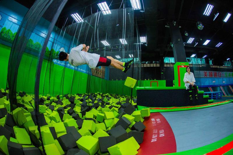 必须是酷跳蹦床主题公园,等你来玩.图片