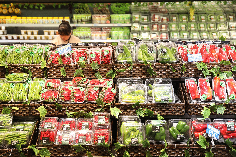 海鲜超市内部装修