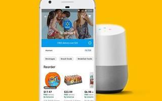 沃尔玛携手Google推语音购物 提供全新体验