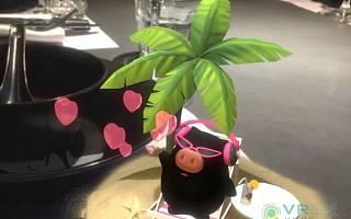 猪厂终于要卖猪肉了?网易味央与外婆家合作,推出3D AR体验餐厅