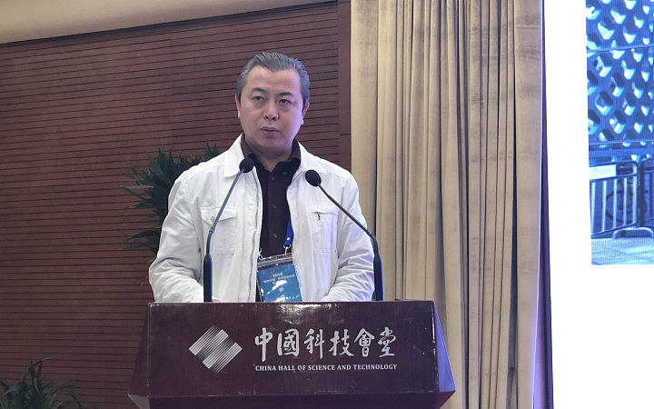 深圳市科协党组织成员、副巡视员孙楠进行工作交流