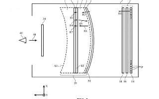 苹果专利曝光:精简光学系统的轻盈智能眼镜方案