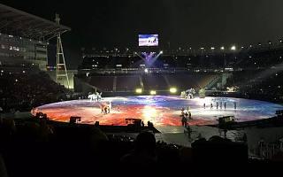 韩国平昌冬奥会正式开幕,这是一场寒冷与科技的交锋