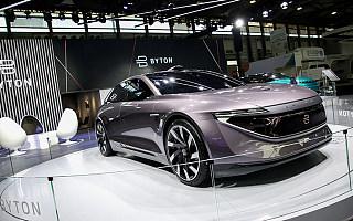 拜腾豪华轿车概念车全球首秀,计划2019年底前在中国开设25-30家店