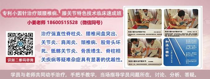 中华圆针治疗颈肩腰腿痛专利技术临床带教班