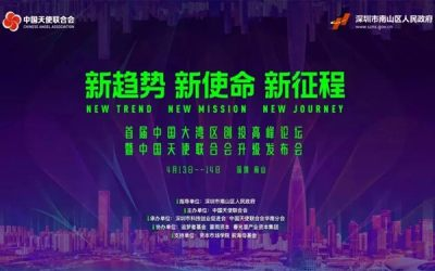 首屆中國大灣區創投高峰論壇暨中國天使聯合會升級發布會