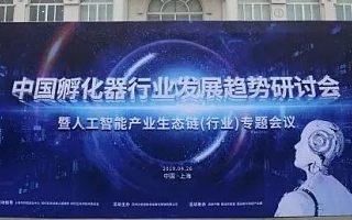 中国(上海)孵化器行业发展趋势研讨会暨人工智能产业生态链(行业)专题会议圆满举行