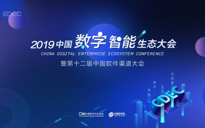 CDEC2019中國數字智能生態大會暨第十二屆中國軟件渠道大會 深圳站