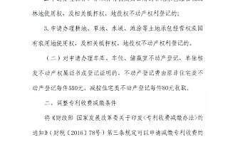 财政部 国家发改委:调整专利收费减缴,个人6万,单位100万!