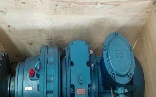 K3K4给煤机专用驱动装置 5.5KW 7.5KW驱动装置