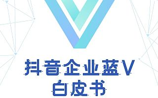 2019版抖音企业蓝V白皮书(附下载)
