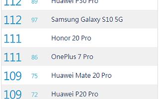 三星Note 10+超越华为P30 Pro 以113分成为DxOMark第一 - iDoNews