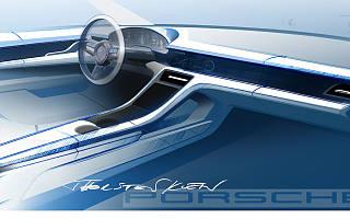 保时捷是如何设计纯电跑车内饰的?