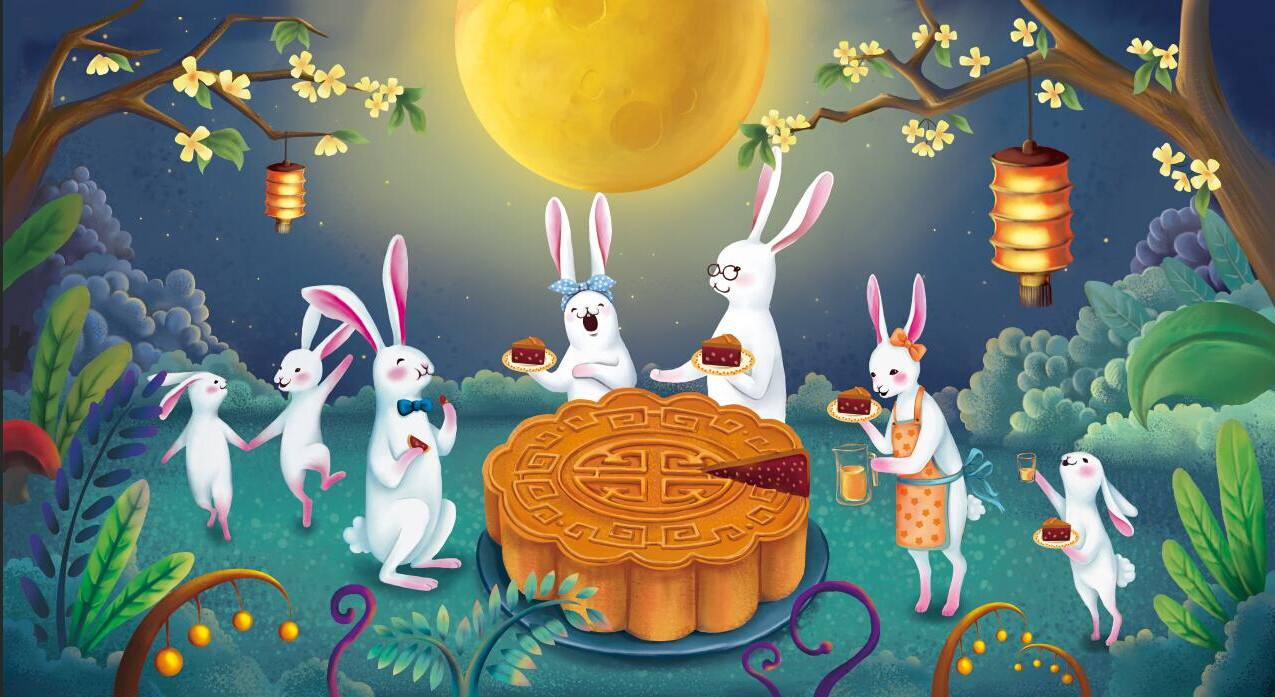揭秘月饼的正确打开方式,德邦快递带你玩转中秋节