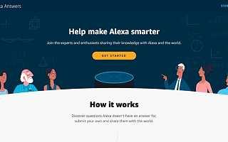 原创 亚马逊正在众包Alexa的答案