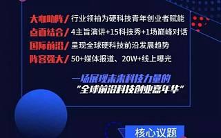 2019中关村论坛 | 硬科技创新与青年创业平行论坛报名开始啦