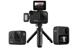 售价3198元起 GoPro发布HERO 8 Black与MAX