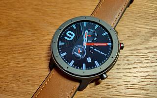 华米 Amazfit GTR,一款能同时适配运动和商务人士的智能手表