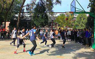 """中关村国际青年艺术季""""篮球争霸赛""""活动走进768创意产业园"""