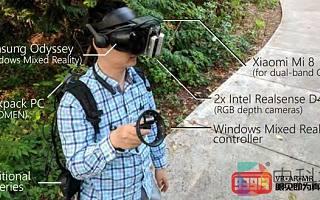 微软推出基于GPS的内向外跟踪动态VR技术