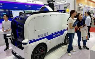 新石器无人安防车亮相安博会,加速智慧硬件全面落地