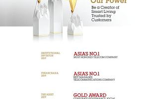 中国联通荣获多项国际荣誉