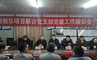 天府新区项目联合党支部召开党建工作座谈会