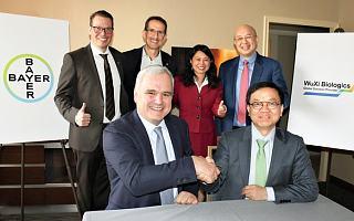 药明生物与拜耳就一家位于德国的生物制剂工厂达成收购协议