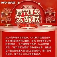 OYO酒店春节预定大数据 展现春节返乡众生态