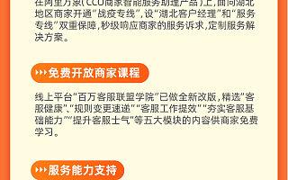 """阿里CCO推出帮扶商家举措:开通湖北""""战疫专线"""" 助力经营恢复"""