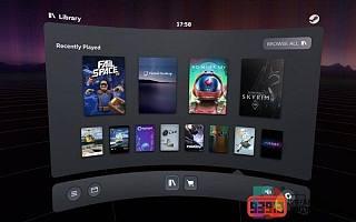 SteamVR Beta版本发布全新功能面板添加Oculus Quest图标