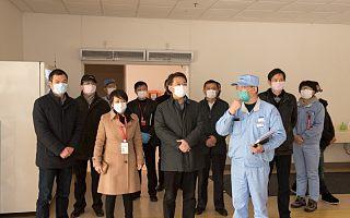 市区领导对防疫工作进行慰问、督查