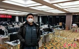 火神山上的达内身影,专访逆行者吴文龙