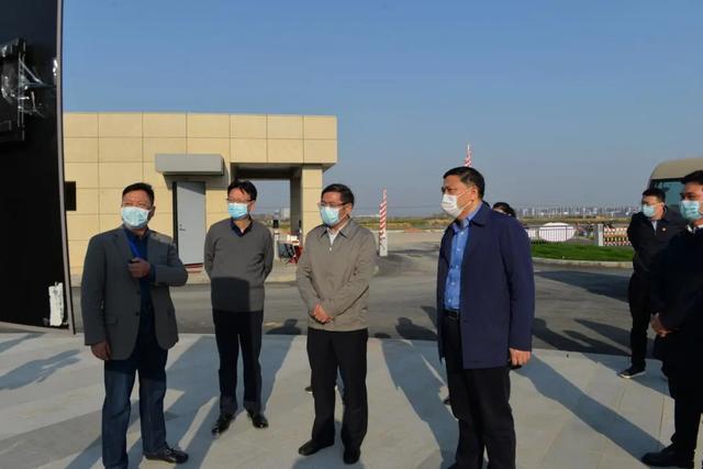 省委组织部来区考察调研企业疫情防控和复工复产工作