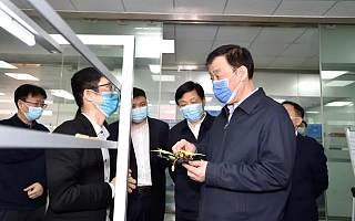 刘奇书记在南昌高新区调研外贸外资企业复工复产