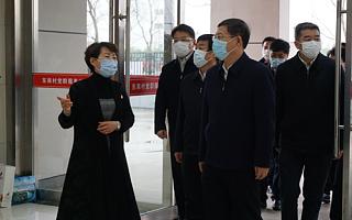 省委常委、组织部部长郭文奇来区调研党建工作
