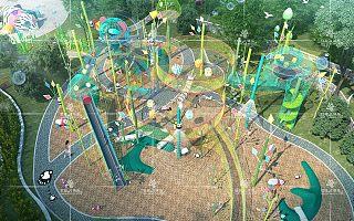 景区投资必备新型户外<font>儿童</font>游乐设备-天空之城